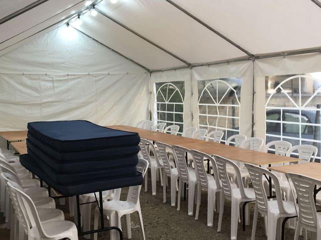 חבילת אוהל 3X6