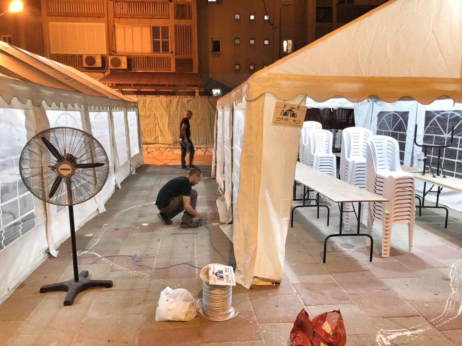 אוהלים לאבלים