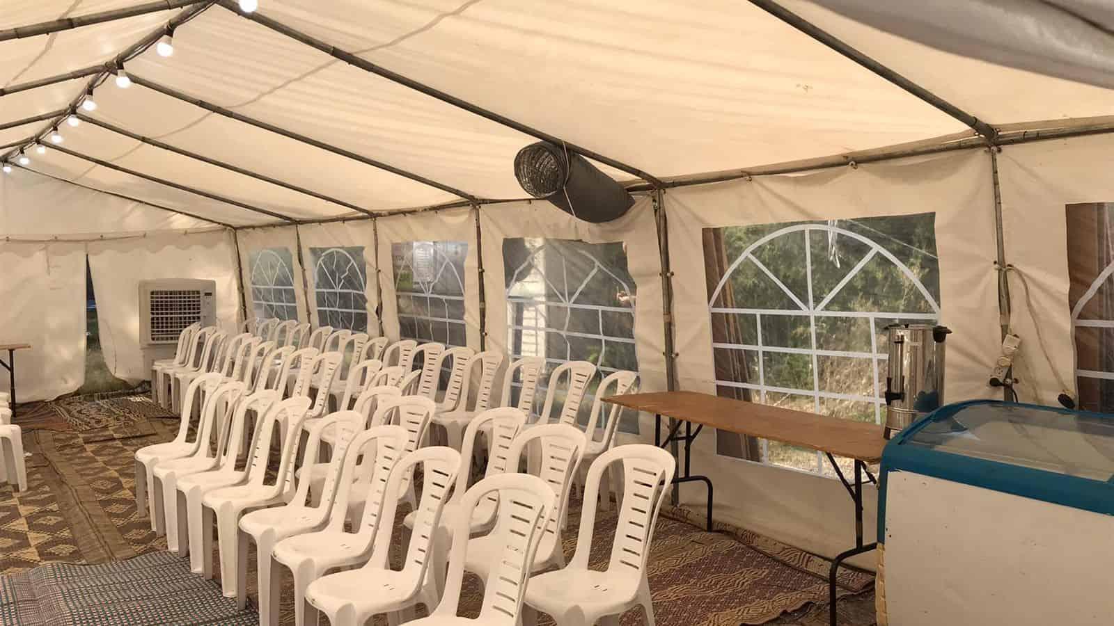 אוהל אבלים מחיר