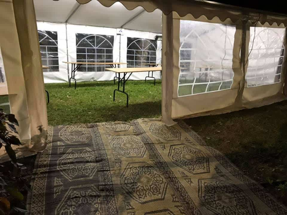 חברה להשכרת אוהלים