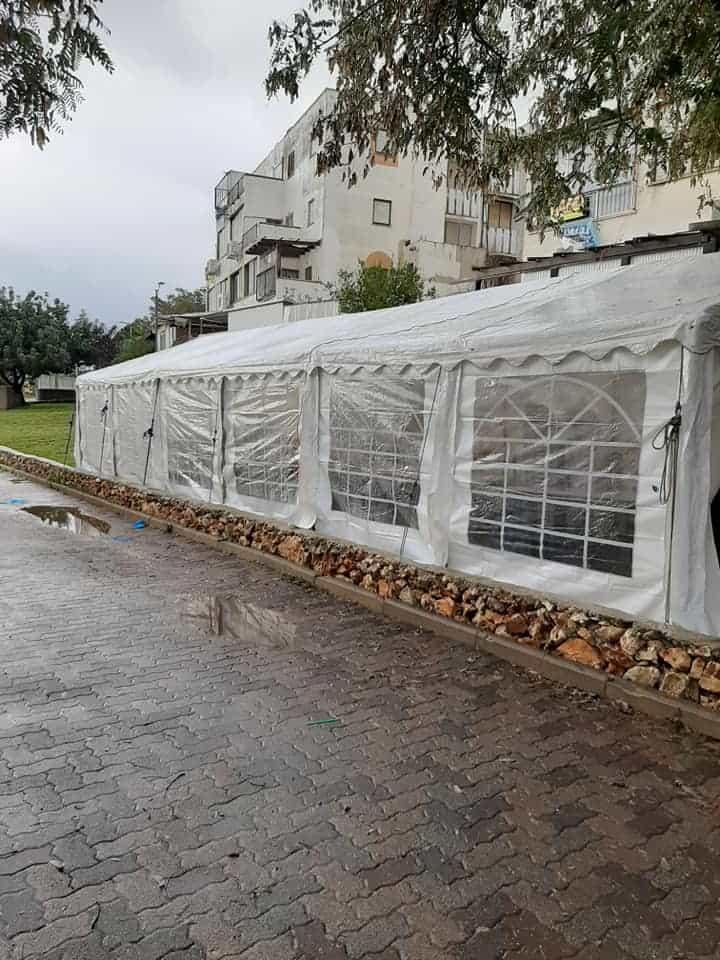 אוהלים גדולים לאירועים