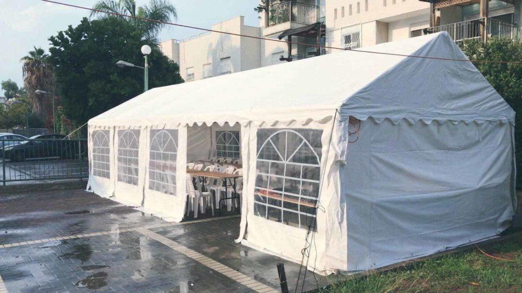 חבילות אוהלים להשכרה