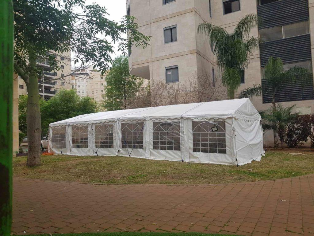 אוהל אבלים בתל אביב